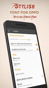 Stylish Font for OPPO - Stylish Font Free screenshot 1