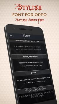 Stylish Font for OPPO - Stylish Font Free screenshot 3