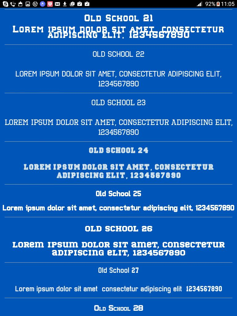 Old School Fonts Free for Android - APK Download