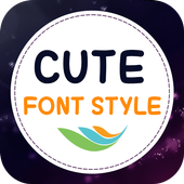 Cute Font Style icon