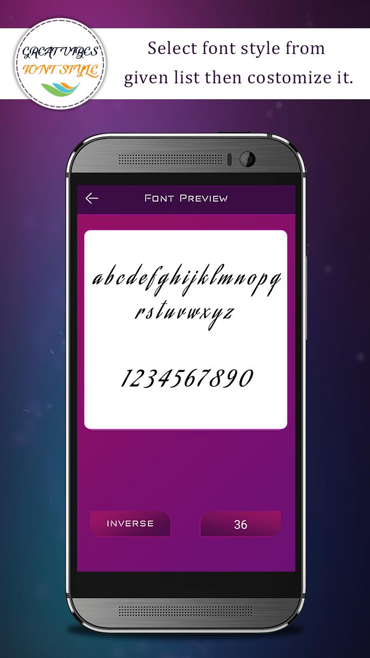 Great Vibes Font Style for Android - APK Download