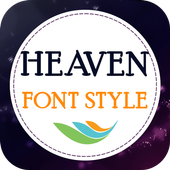 Heaven Font Style icon