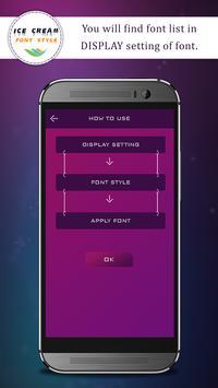 Ice Cream Font Style apk screenshot