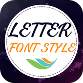 Letter Font Style icon