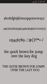 Retro Font Style screenshot 3