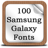 100 SamsungGalaxy Fonts icon