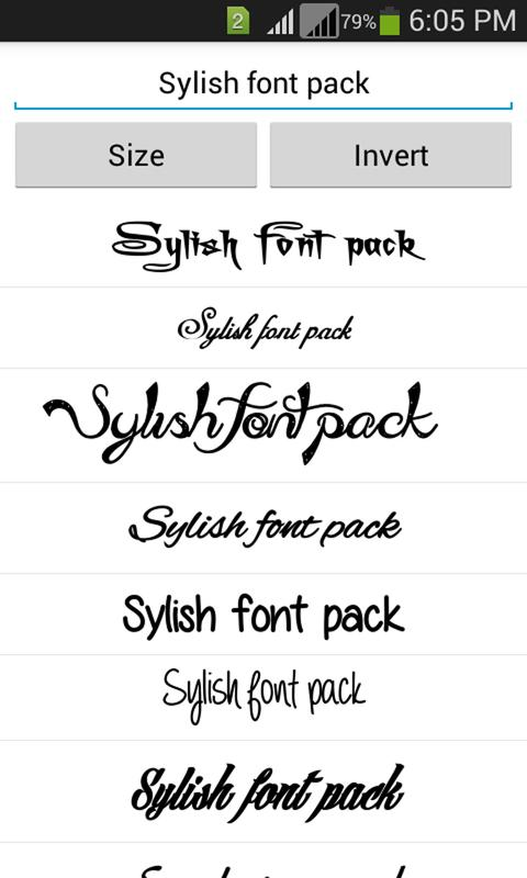 Download Stylish Fonts APK Download - Free Personalization APP for ...