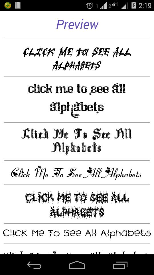 Font Styles for Android - APK Download