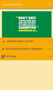 Inspiring Authors Quotes apk screenshot