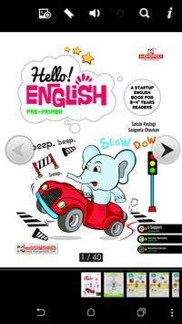 Hello English Pre-Primer poster