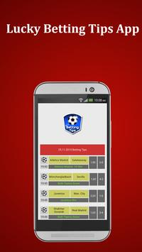 Betting Tips App poster
