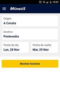 Monbus Horarios screenshot 1