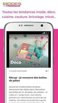 Modes & Travaux screenshot 4
