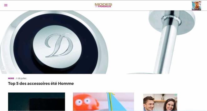 Modes & Travaux screenshot 5