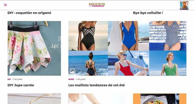 Modes & Travaux screenshot 8