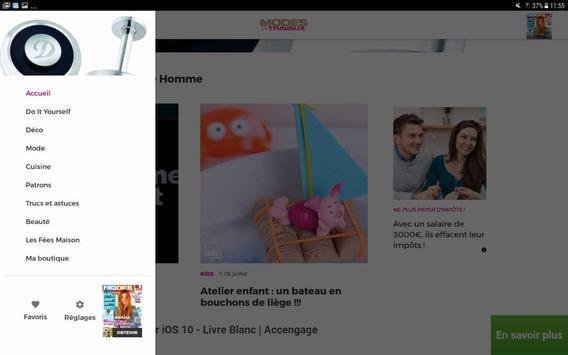 Modes & Travaux screenshot 9