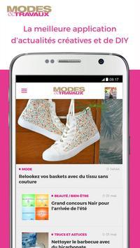 Modes & Travaux poster