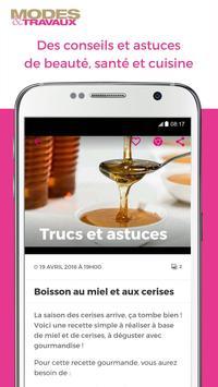 Modes & Travaux screenshot 1