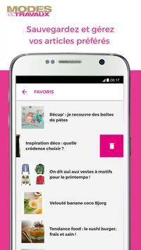 Modes & Travaux screenshot 2