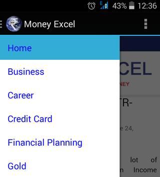 Money Excel apk screenshot