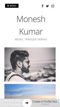 Monesh Kumar poster
