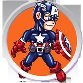 Super Hero Matching Game icon
