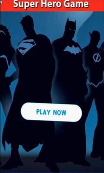 Super Hero Matching Game poster
