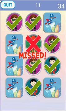 Super Hero Matching Game screenshot 3