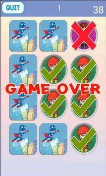Super Hero Matching Game screenshot 4