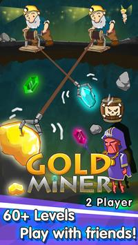 Gold Miner-Free 2 Player Games poster