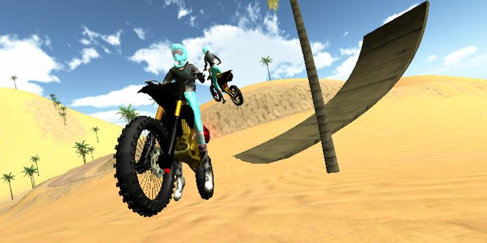 Wasteland Motocross Driver poster