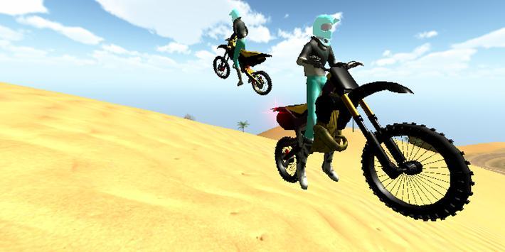 Wasteland Motocross Driver screenshot 3