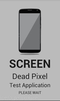 LCD Screen Dead Pixel Test poster