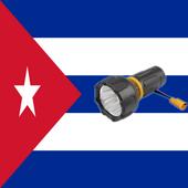 Linterna flash led Cuba icon