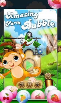 Amazing Farm Bubble poster