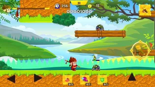 MONK - The Jungle Fighter screenshot 1