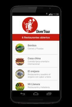 Domicilios DomYaa screenshot 2