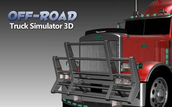 Truck Simulator 3D 2017 poster