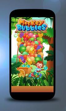 Bubble Monkey poster
