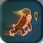 Funny Monkey Ice Cream Lover icon
