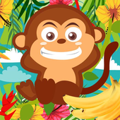 Monkey Adventure Jungle Island icon