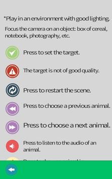 Animals Augmented Reality screenshot 10