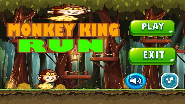 Banana Monkey king Run Jungle screenshot 9