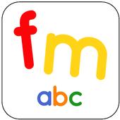 Fridge Magnet Letters icon