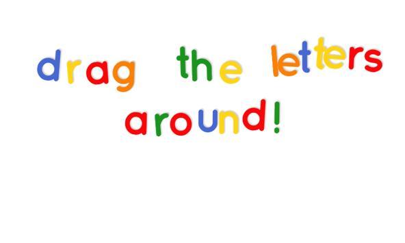 fridge magnet letters screenshot 2