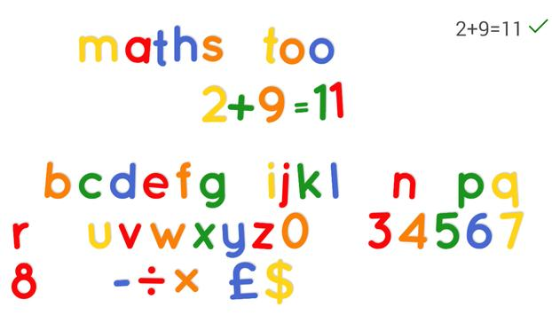 Fridge Magnet Letters+Numbers screenshot 10