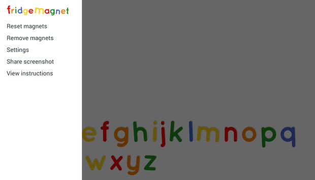 Fridge Magnet Letters+Numbers screenshot 12