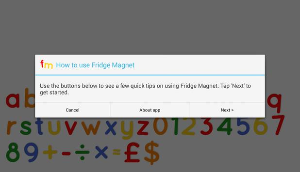 Fridge Magnet Letters+Numbers screenshot 15