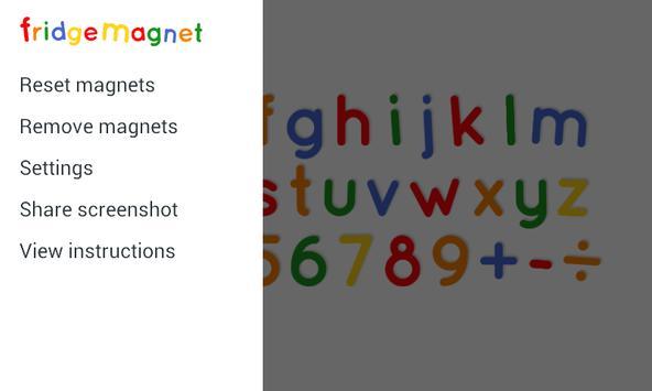 Fridge Magnet Letters+Numbers screenshot 1