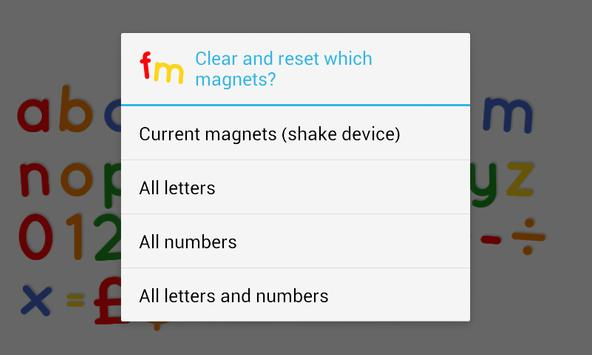 Fridge Magnet Letters+Numbers screenshot 5